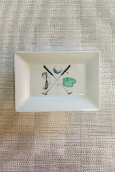 Mini Dish, Golf Crest
