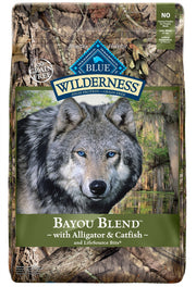 Blue Buffalo Wilderness Grain Free Natural Bayou Blend with Alligator & Catfish Dry Dog Food