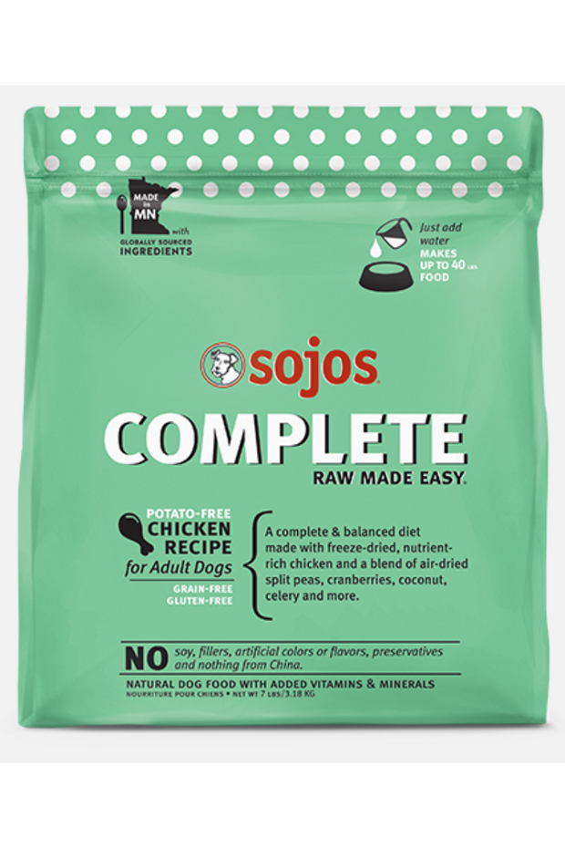 Sojos Complete Chicken Dog Food