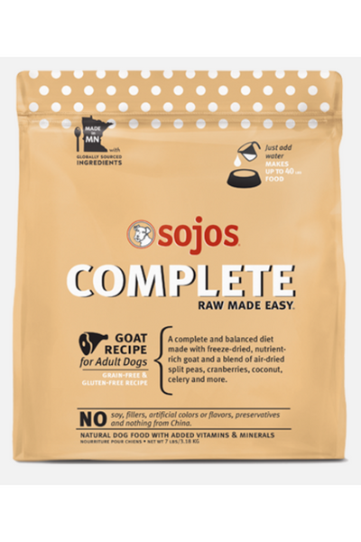 Sojos Goat Complete Dog Food Mix