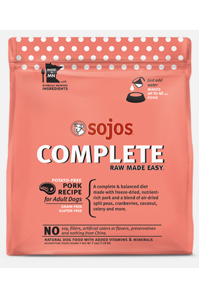 Sojos Complete Pork Dog Food