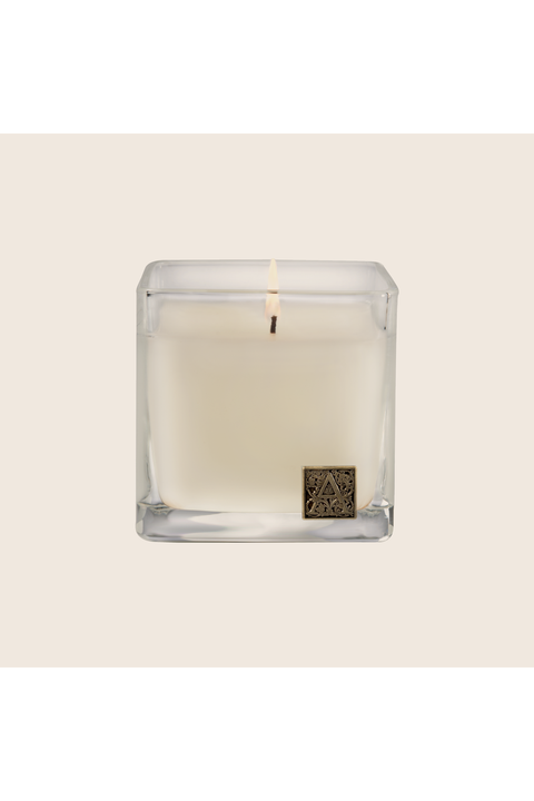 Aromatique Gingerbread Brûlée Cube Glass Candle