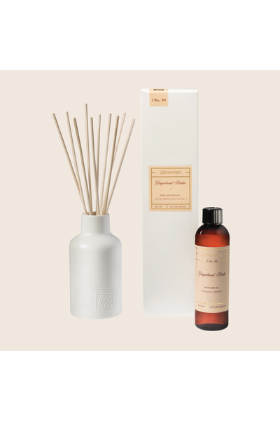 Aromatique Gingerbread Brûlée Reed Diffuser Set