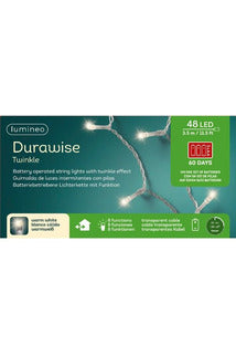Durawise Outdoor Warm White LED Lights 48