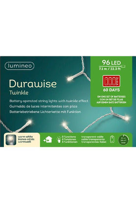 Durawise Outdoor LED Lights Warm White 96