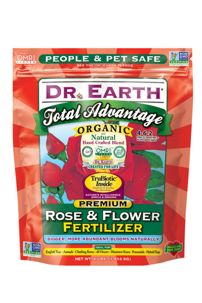 Fertilizer, Dr. Earth Rose & Flower
