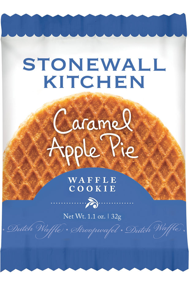 Stonewall Kitchen Caramel Apple Pie Dutch Waffle Cookie