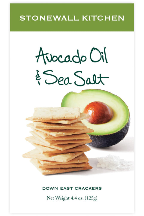 Stonewall Kitchen Avocado Oil & Sea Salt Cracker