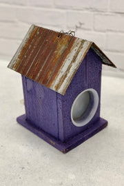Purple Nature Creations Birdhouse