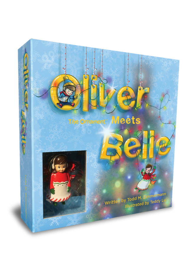 Oliver The Ornament Meets Belle Gift Set
