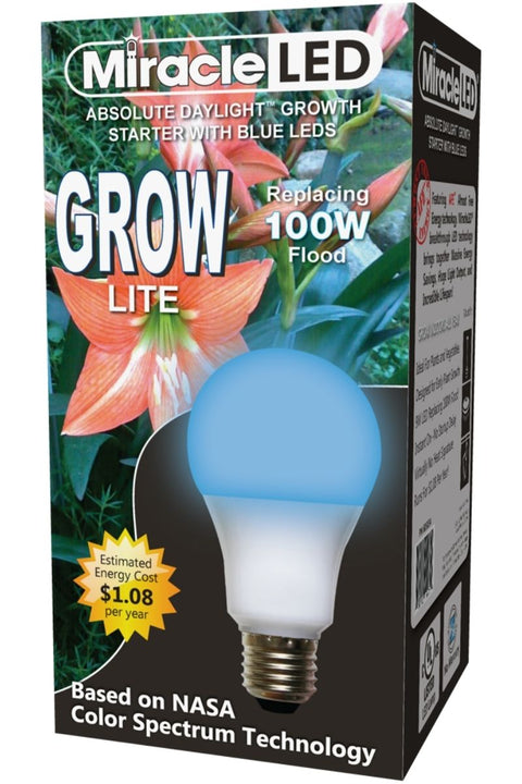 Absolute Daylight 100W Replacement Hydroponic Grow Light Blue Spectrum Starter