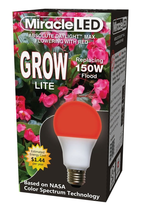 Hydroponic Ultra-Grow Red Spectrum Flowering Grow Light Replace 150W