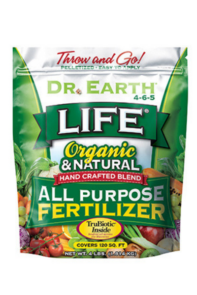 Fertilizer, Dr. Earth Life All Purpose