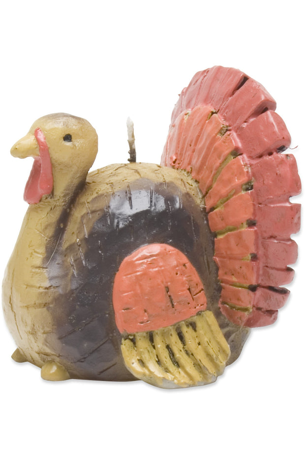 Tag Turkey Candle