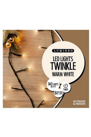 LED Lights, Twinkling Warm White