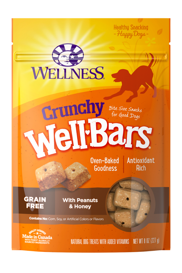 Wellness WellBars Peanut & Honey