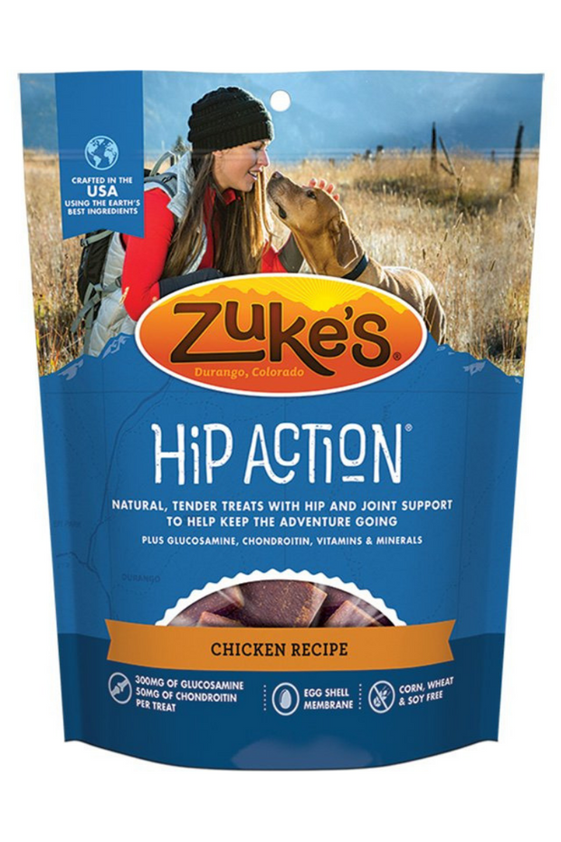 Zuke's Hip Action Chicken Dog Treats with Glucosamine and Chondroitin