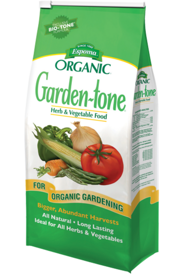 Garden-tone Herb and Vegetable Food Fertilizer 3-4-4