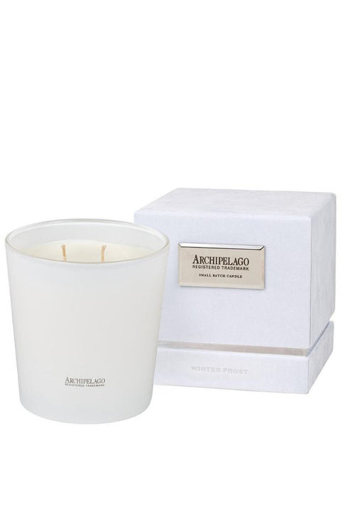 Archipelago Holiday Winter Frost Half Kilo Boxed Candle