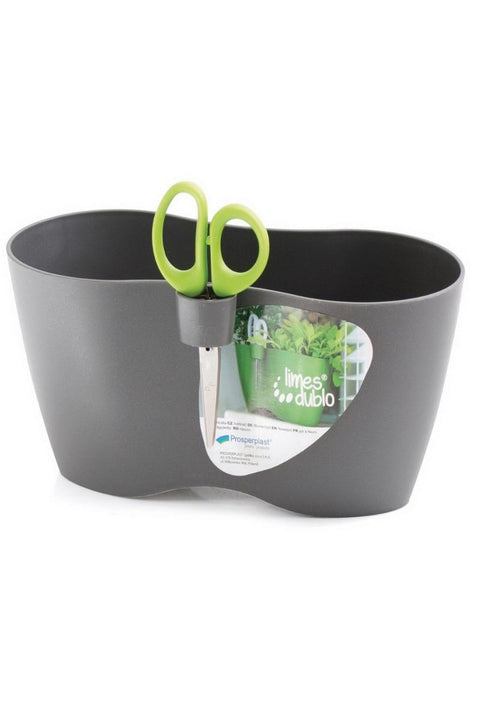 Urban Duo Herb Planter w/ Herb clipping scissors