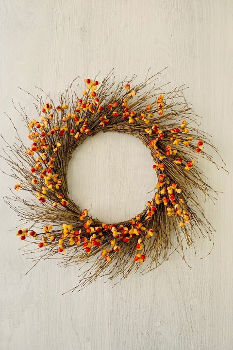 Silk Bittersweet Berry Wreath