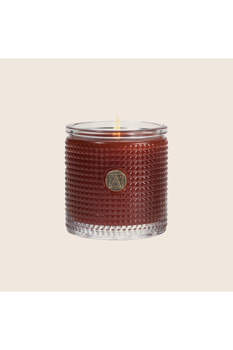 Aromatique Pumpkin Spice Textured Glass Candle