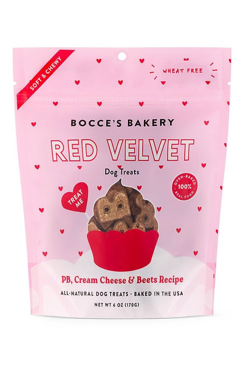 Bocce's Bakery Red Velvet Valentine's Day Dog Treats