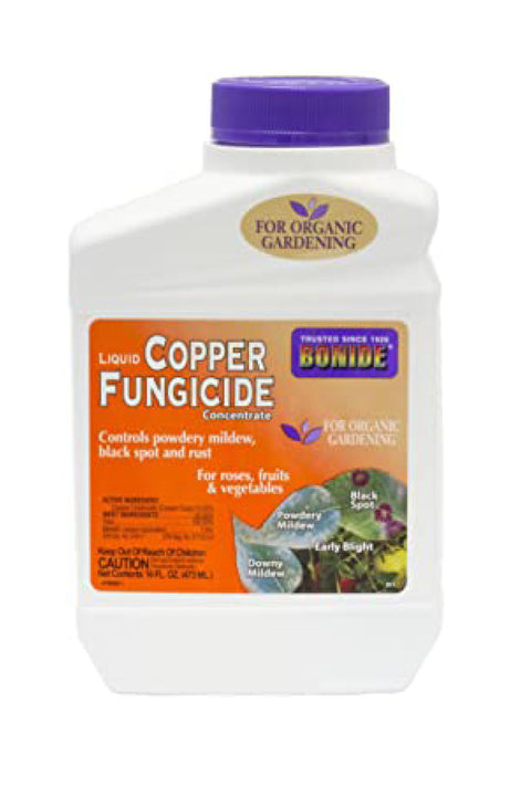 Liquid Copper Fungicide Concentrate - 1 Pint