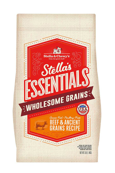 Stella & Chewy's Grass-Fed Beef & Ancient Grains Recipe