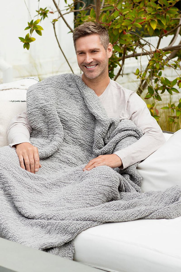 Barefoot Dreams - The Boucle Throw Blanket