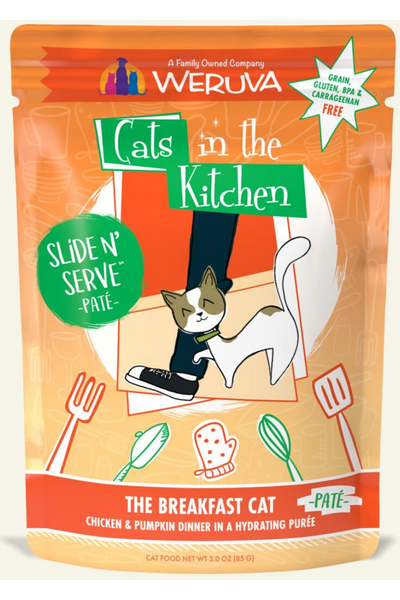 Weruva The Breakfast Cat Chicken & Pumpkin Dinner (3.0 oz Pouch)