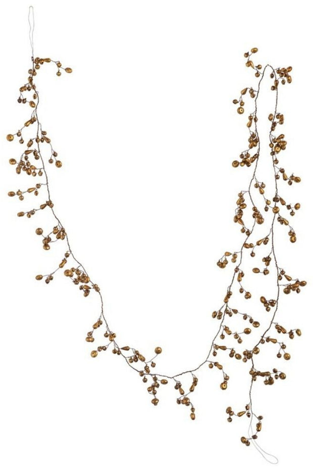 Garland, Beaded Leaf Wire