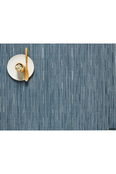 Placemat, Bamboo Rectangle Rain