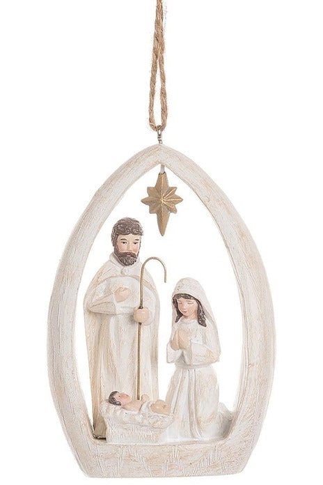 Ornament, Woodland Nativity