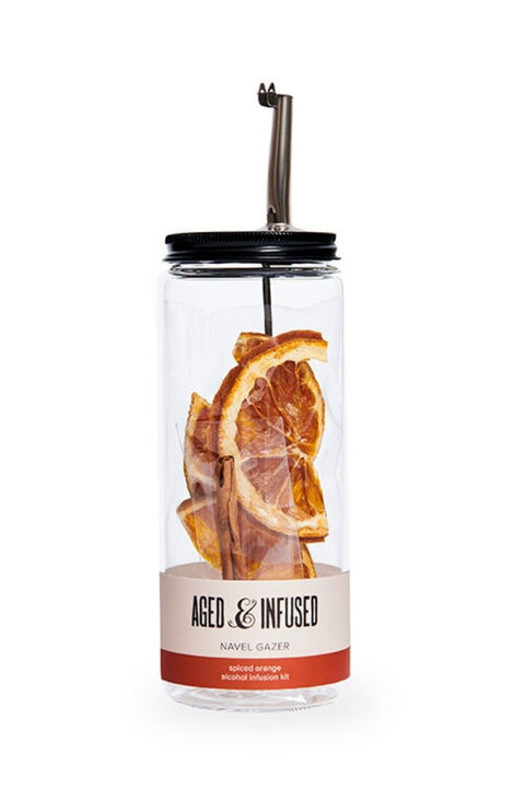Aged and Infused, Navel Gazer Alcohol Infusion Kit