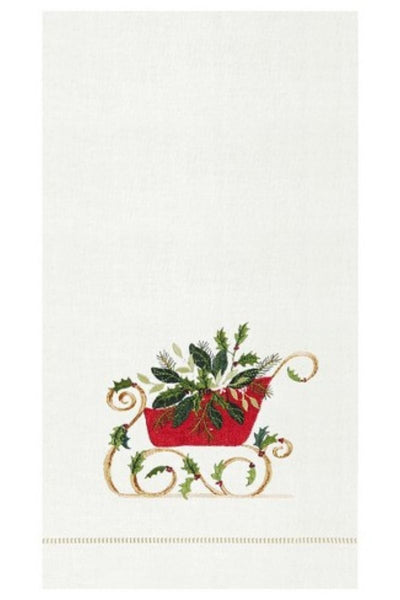 C&F, Guest Towel - Sleigh