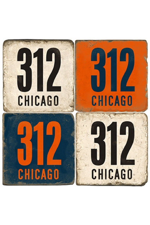 Coaster, Area Code 312 Chicago (sold separately)