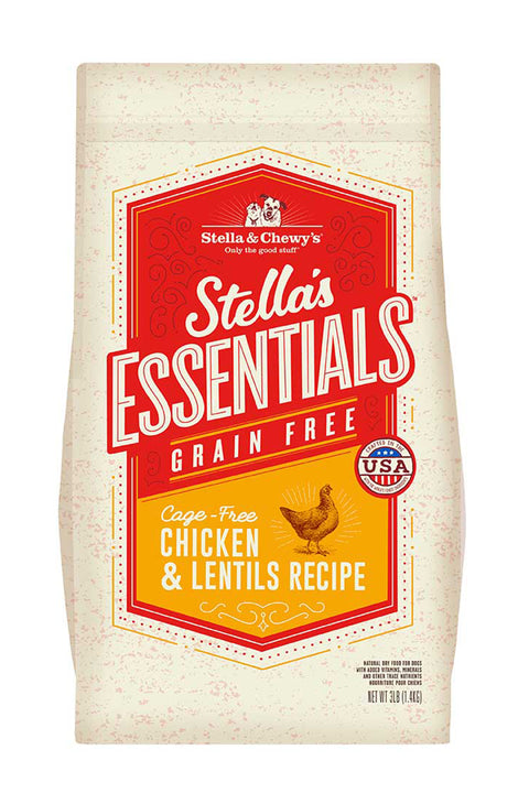 Stella & Chewy's Grain-Free Cage-Free Chicken & Lentils Recipe