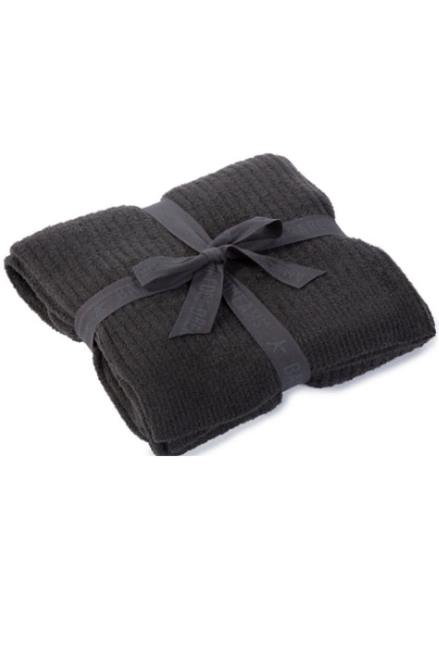 CozyChic Lite Ribbed Throw - Carbon
