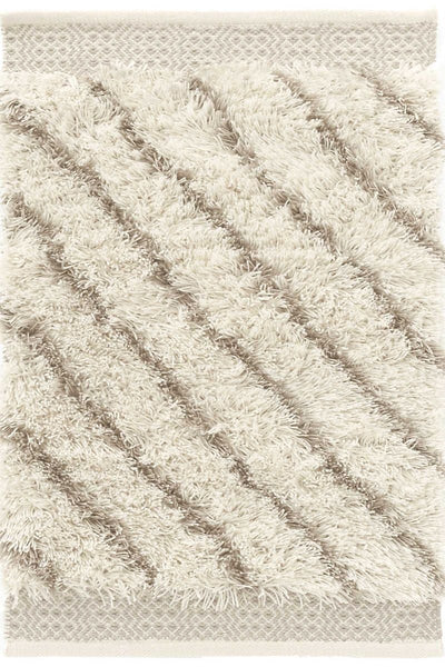 Moroccan Lines Grey Indoor/Outdoor Rug 2' x 3'