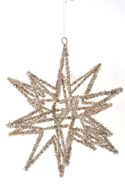 Ornament, Tinsel Star