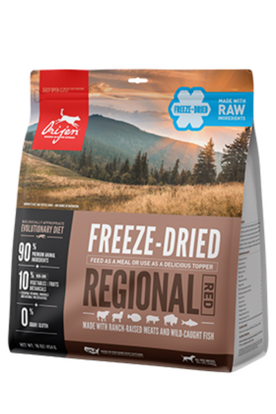 Orijen Regional Red Freeze-Dried Dog Food