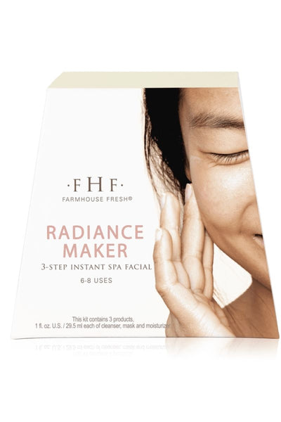 Farmhouse Fresh Radiance Maker 3-step Instant Spa Facial