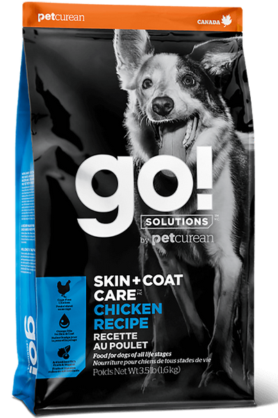 Go! Solutions Skin + Coat Care Chicken Recipe