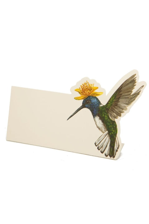 Hummingbird Place Card Set of 12