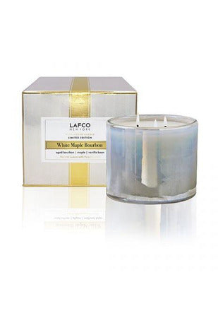 Lafco White Maple Bourbon 3 Wick Candle