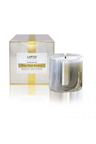 Lafco White Maple Bourbon Candle