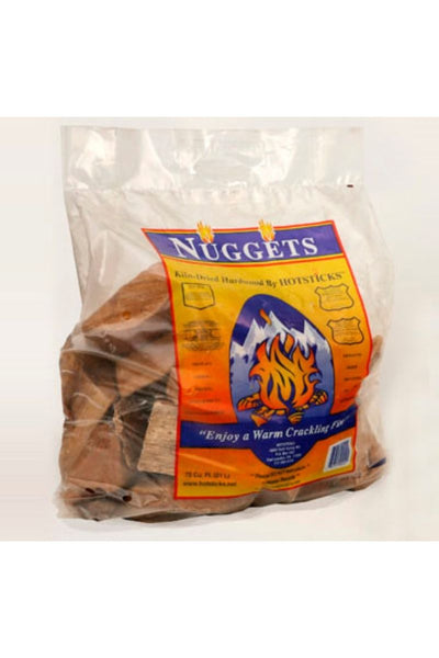Hotsticks Firewood Nuggets .75 Cubic-ft