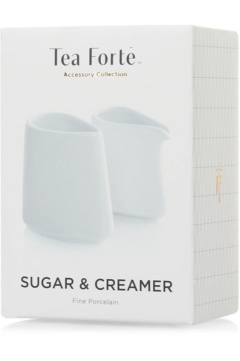 Tea Forté Sugar and Creamer Set