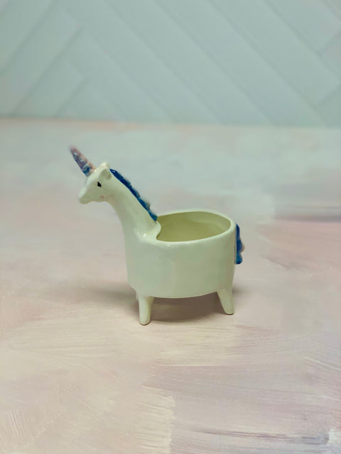 "Unicorn Pot 5.75"" x 7"""